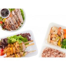 1 Main+1 Veg+1 Side Dish 一主一菜一小菜($3)